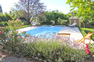 Maison Claire pool and garden